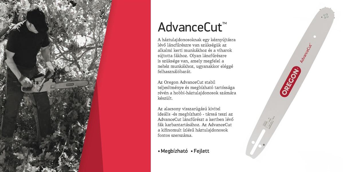 Oregon AdvanceCut vezetőlemez 120SXEA074