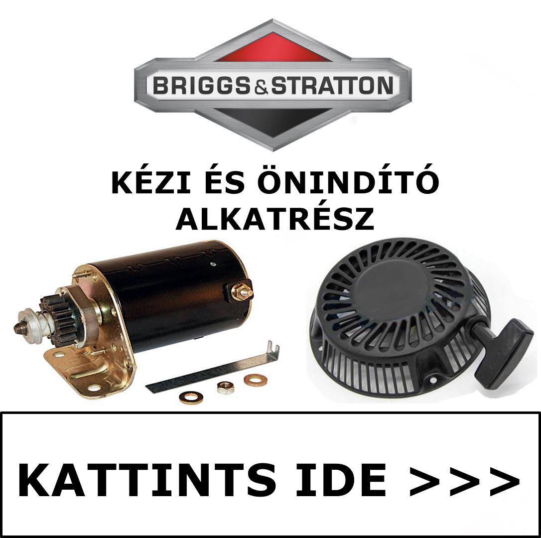 Briggs & Stratton kézi és önindító alkatrész