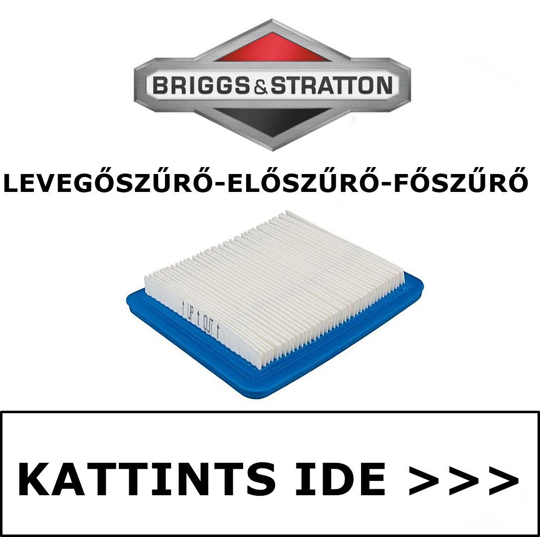 Briggs & Stratton levegőszűrő előszűrő főszűrő