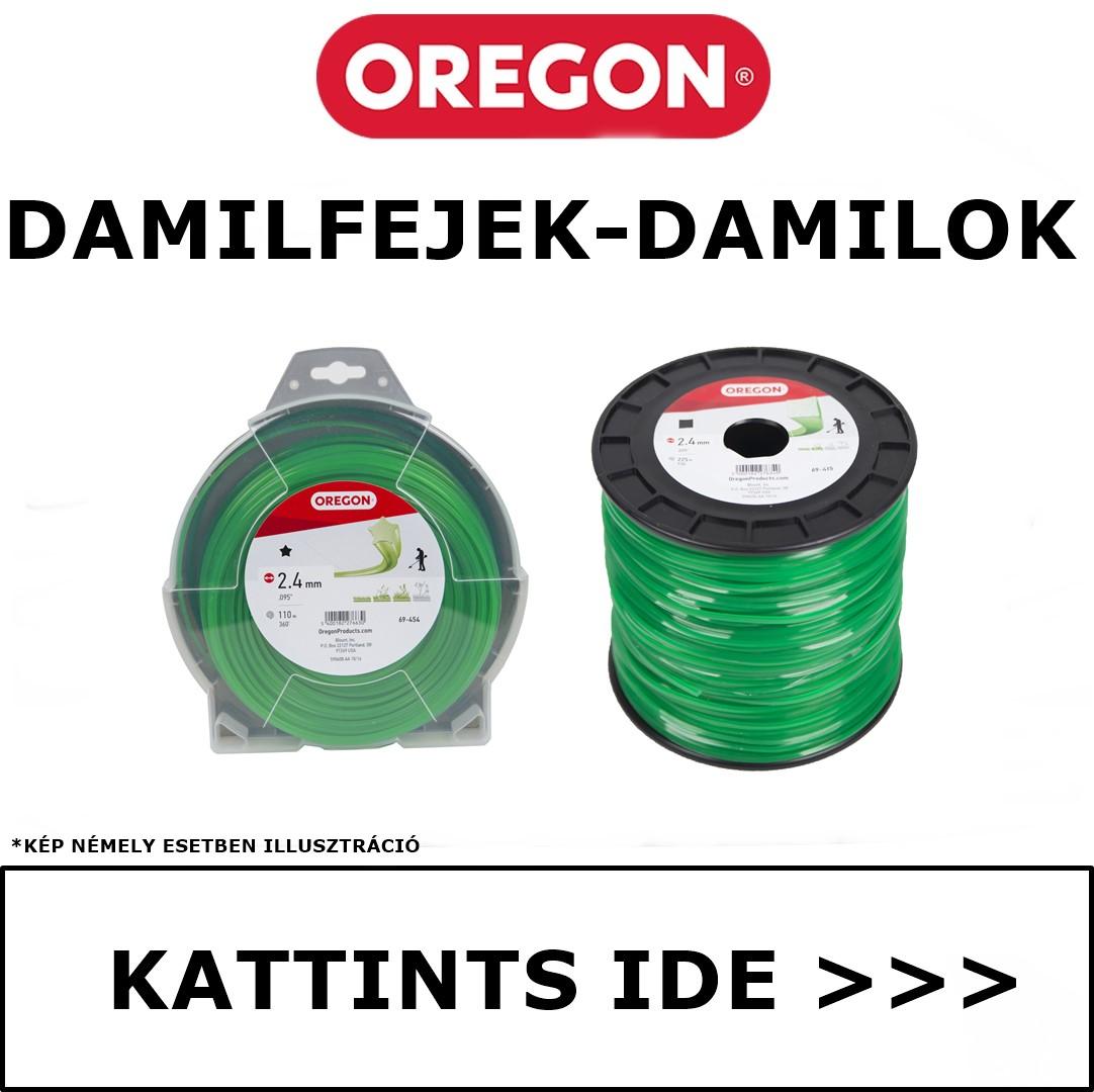 Oregon damilfejek - damilok
