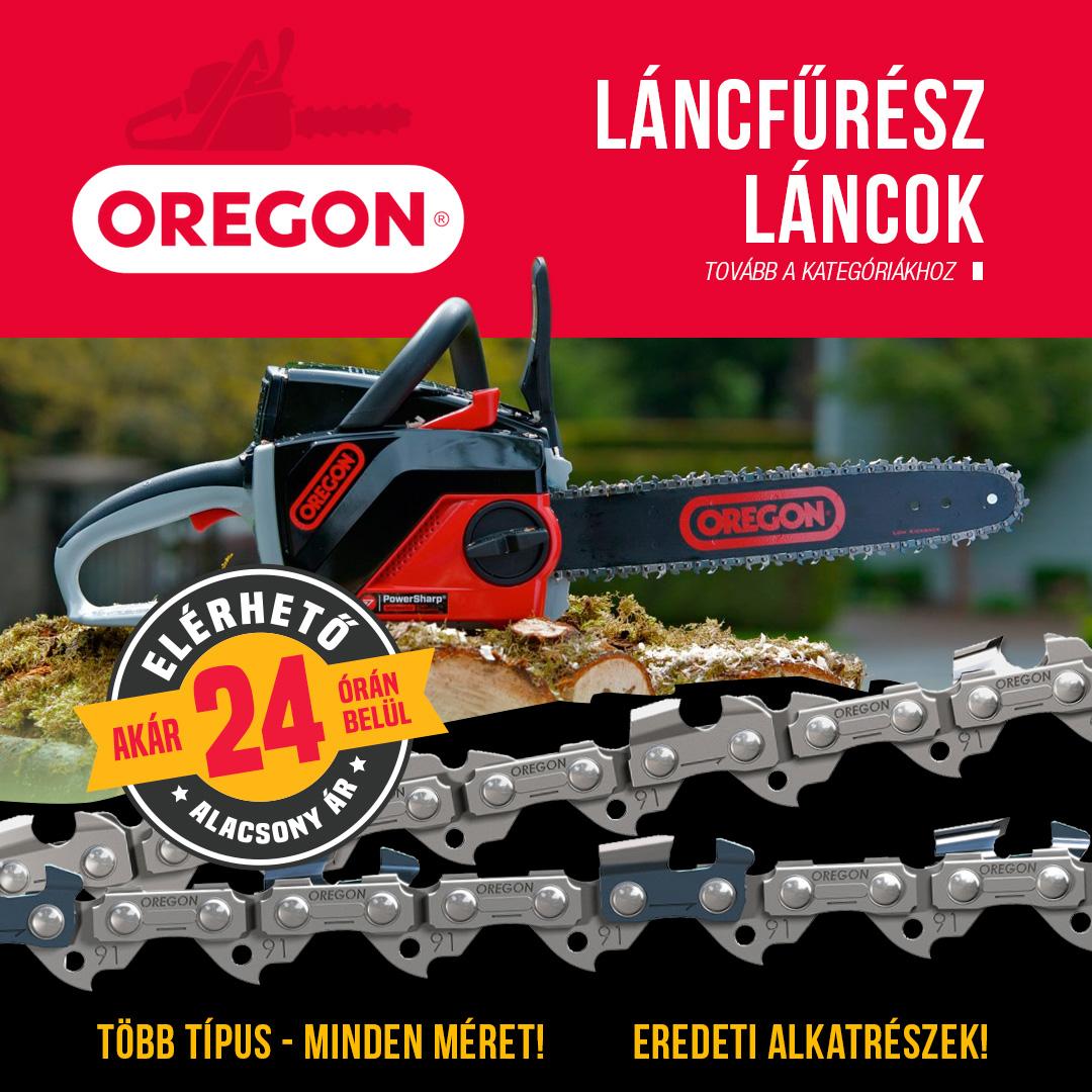 Oregon láncfűrész lánc