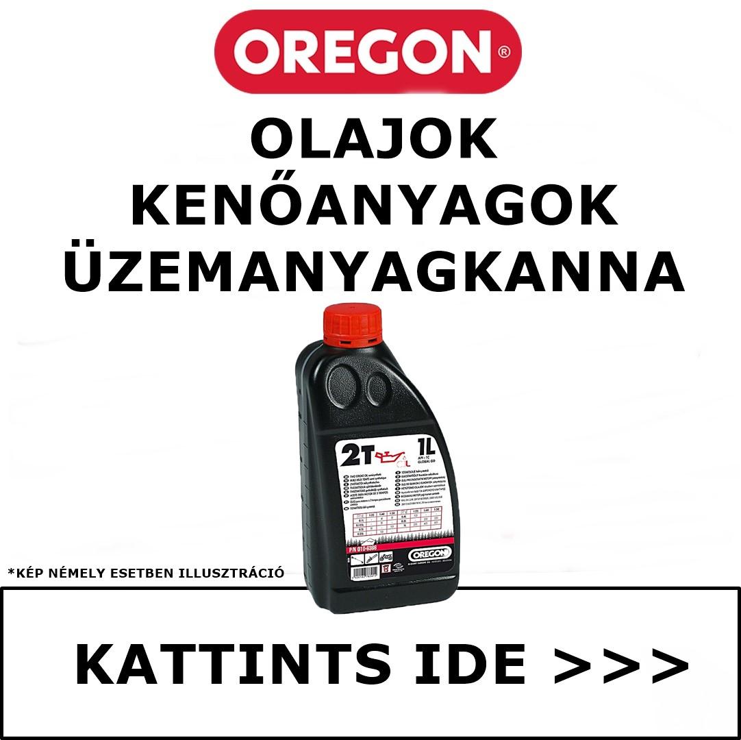 Oregon olajok kenőanyagok vegyszerek üzemanyagkanna