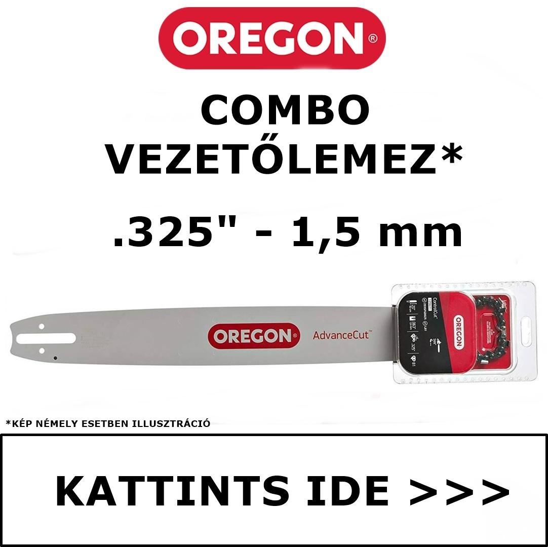 """Oregon Combo vezetőlemez 325"""" - 1.5 mm"""