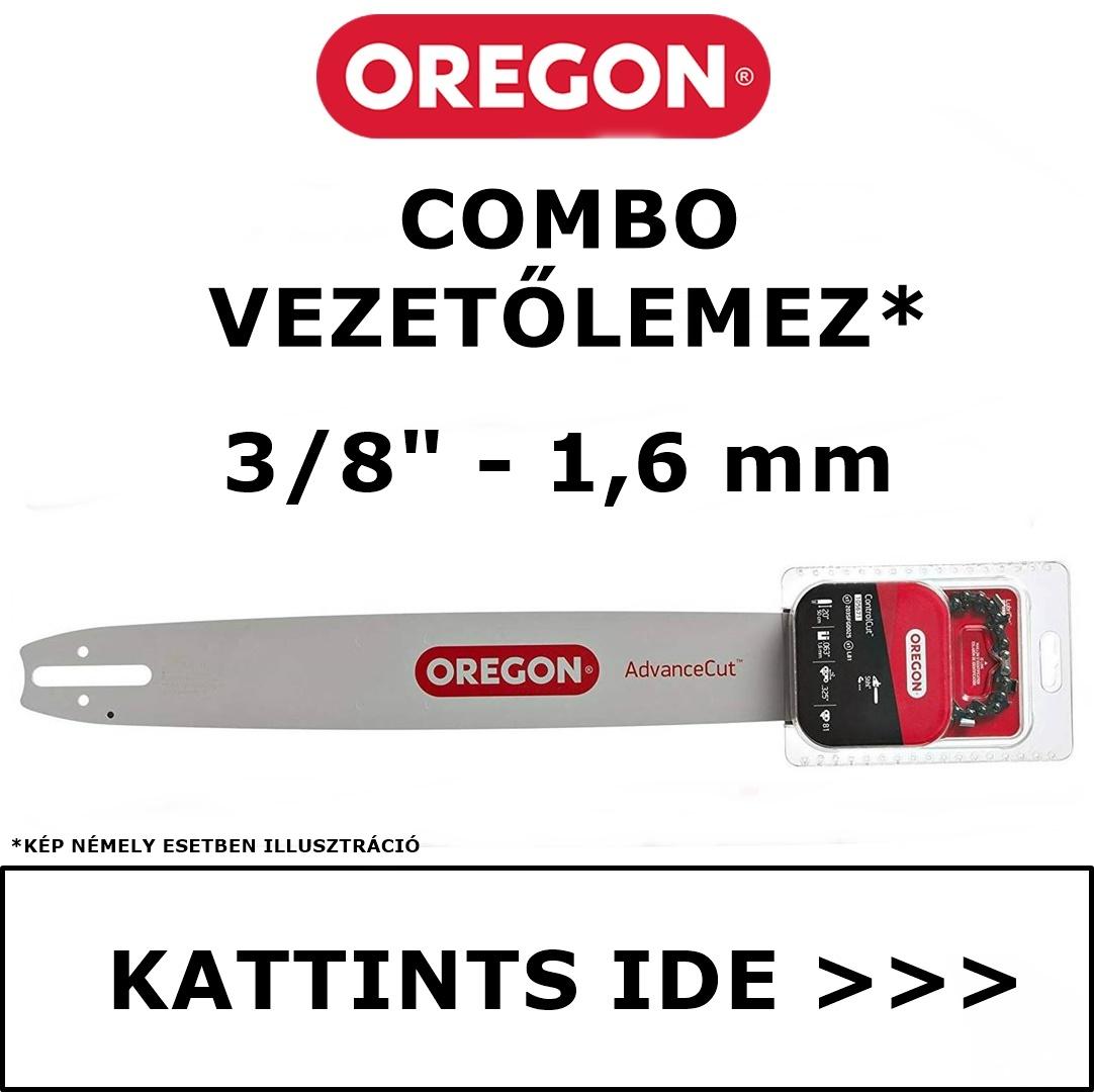 """Oregon Combo vezetőlemez 3/8"""" - 1.6 mm"""