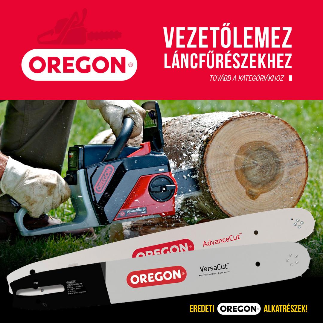 Oregon láncfűrész vezető