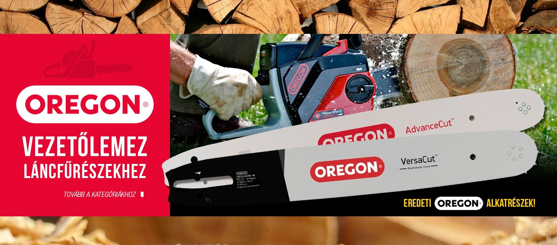 Oregon vezetőlemez