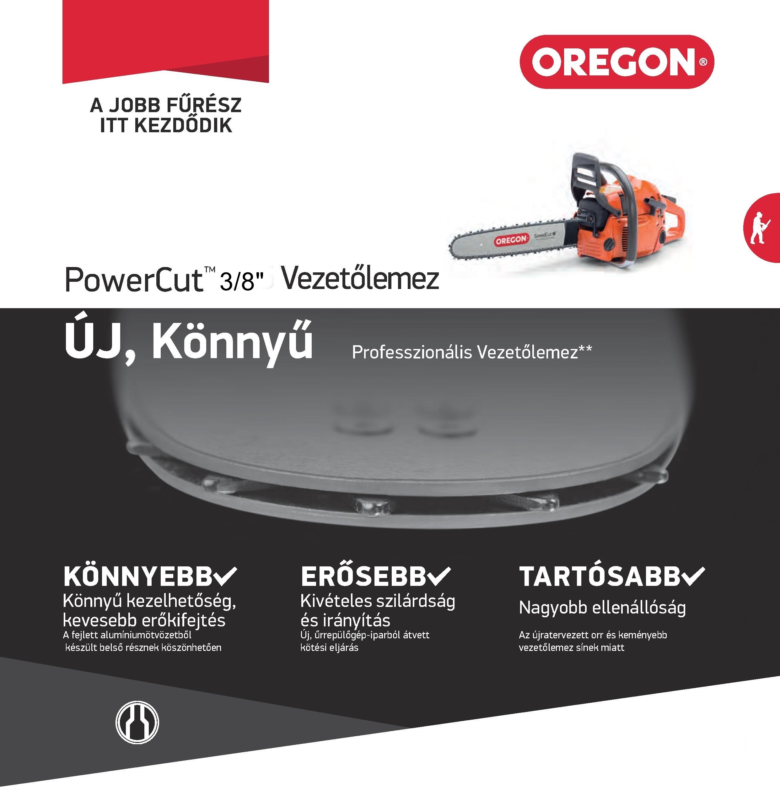 Oregon PowerCut vezetőlemez 283RNDD025