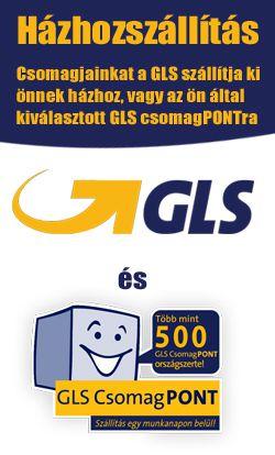 GLS házhoz szállítás és csomagpont