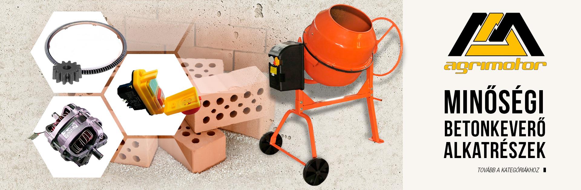 Agrimotor betonkeverő alkatrész